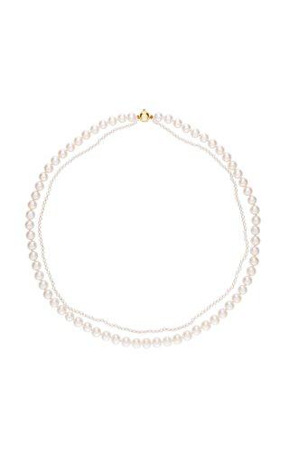 Sophie Bille Brahe Peggy Deux Necklace In White