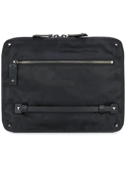 Valentino Garavani Valentino  Rockstud Ipad Case - Black