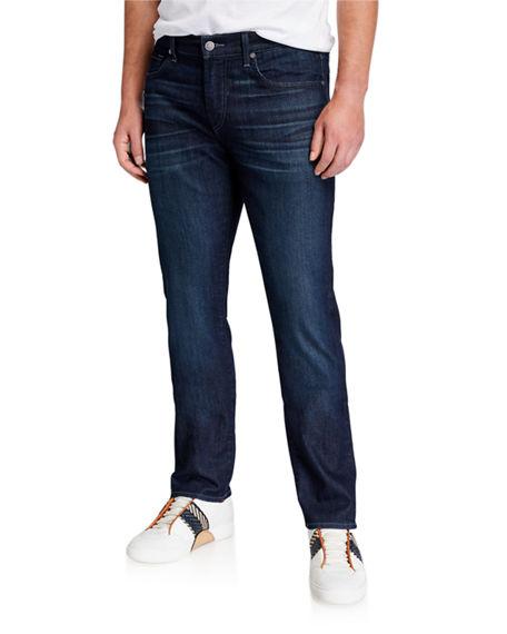 7 For All Mankind Men's Slimmy Airweft Denim Jeans In Perennial