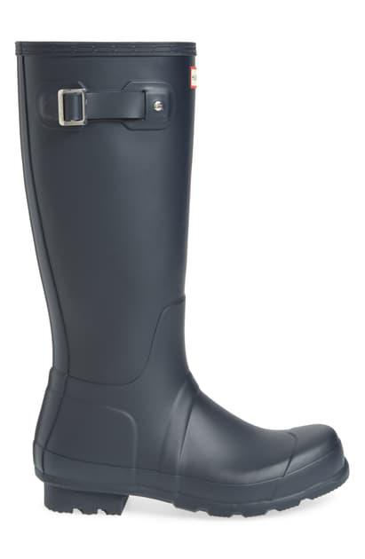Hunter 'original Tall' Rain Boot In Navy