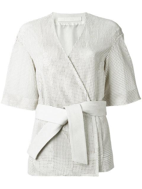 Drome Belted Kimono - White