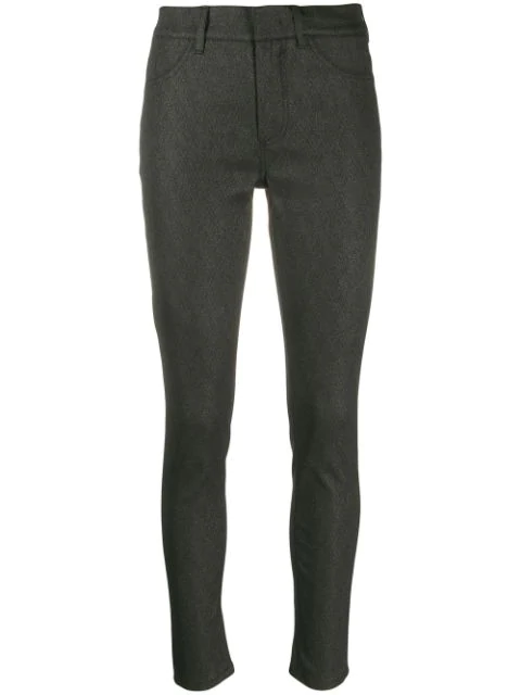 Dondup High-waisted Skinny Jeans In Grey