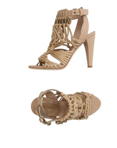 Alberta Ferretti Sandals In Beige