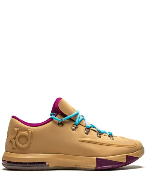 Nike Kd 6 Ext Gum Qs Sneakers In Neutrals