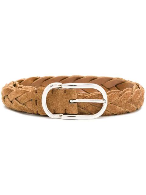 Brunello Cucinelli Braided Belt In C6559