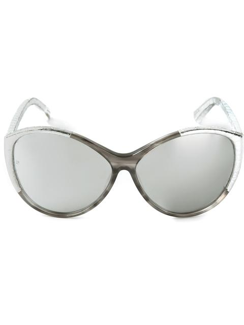 Linda Farrow '332' Sunglasses