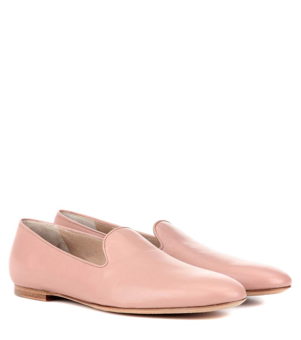 Gabriela Hearst Francis Leather Slippers
