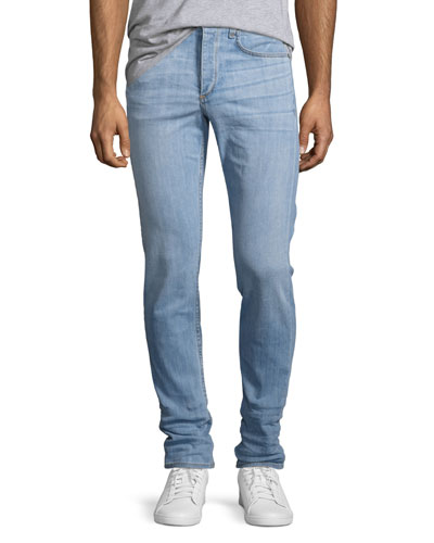 Rag & Bone Standard Issue Fit 1 Super Slim Jeans In Rhineback