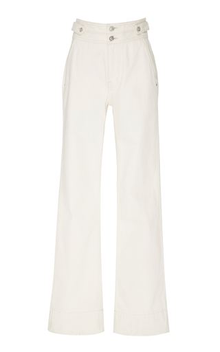 Current Elliott Significant Other High-Rise Wide-Leg Jeans In Wash Out