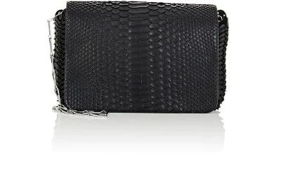 Paco Rabanne Python 14#01 Chain-Mail Small Shoulder Bag - Noir