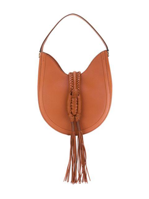 Altuzarra Ghianda Hobo Knot Small Bag In Caramel