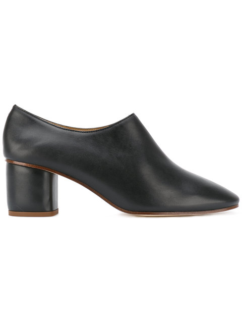 Joseph Leather Ankle Boots In Black
