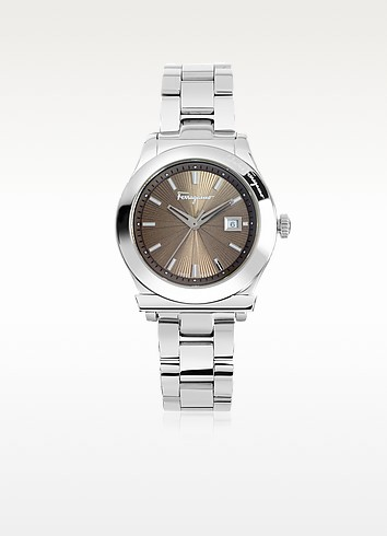 Salvatore Ferragamo Ferragamo 1898 Silver Tone Stainless Steel Women's Watch