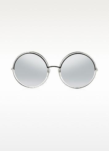 2b1dd9b67b6e Marc Jacobs Marc 11/S Metal & Acetate Round Oversized Women's Sunglasses