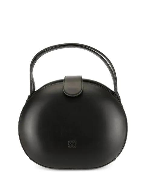 Loewe Monogram Shoulder Bag In Black