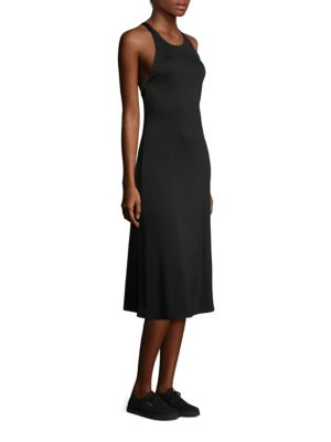 The Row Ladonna Sleeveless Dress In Black