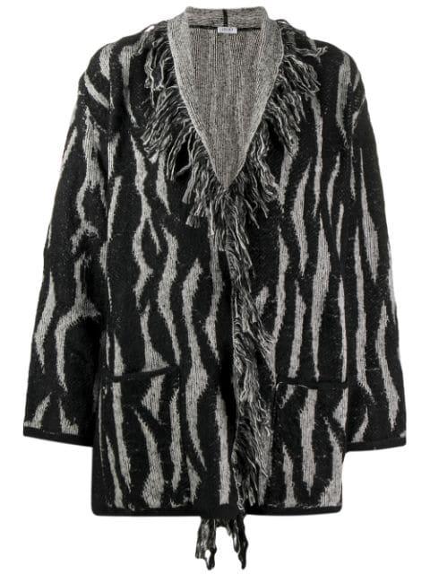 Liu •Jo Zebra Intarsia In Black
