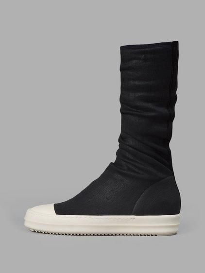 Rick Owens Drkshdw Black Sock Sneakers