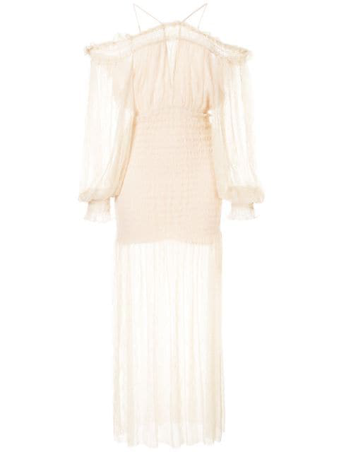 Alice Mccall Harvest Moon Dress In Neutrals