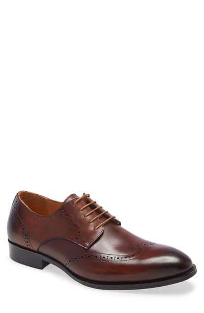 Ike Behar Men's Hand Made Dress Shoe Men's Shoes In Tan