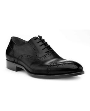 Ike Behar Men's Hand Made Dress Shoe Men's Shoes In Black