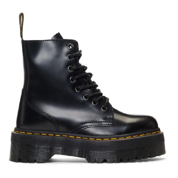 Dr. Martens Dr Martens Shriver Hi Wyoming Heeled Ankle Boots In Black