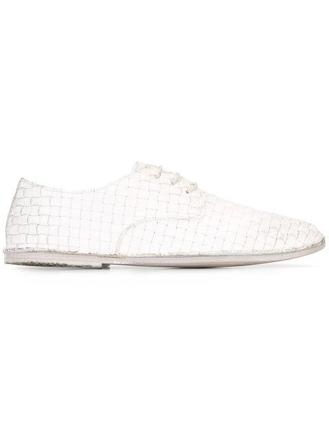 MarsÈll Woven Lace-up Shoes