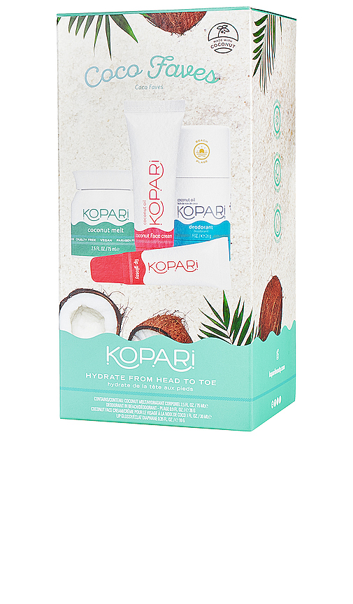 Kopari Coco Faves Kit In N,a