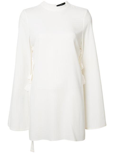Ellery Flared Sleeves Blouse - White