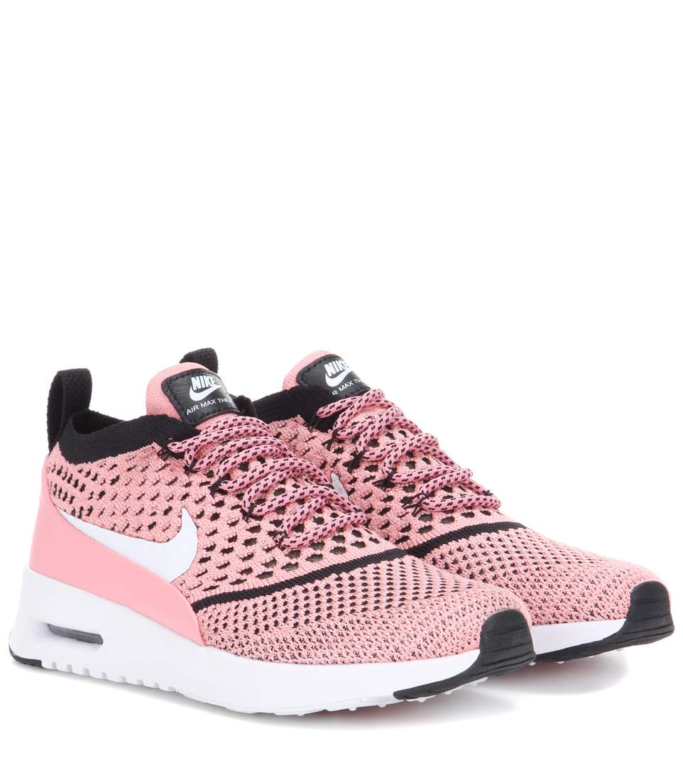 b6966f88e5 Nike Air Max Thea Ultra Flyknit Sneakers In Lright Meloe | ModeSens