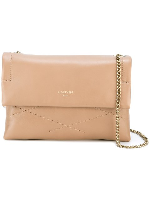 Lanvin 'sugar' Shoulder Bag In Neutrals