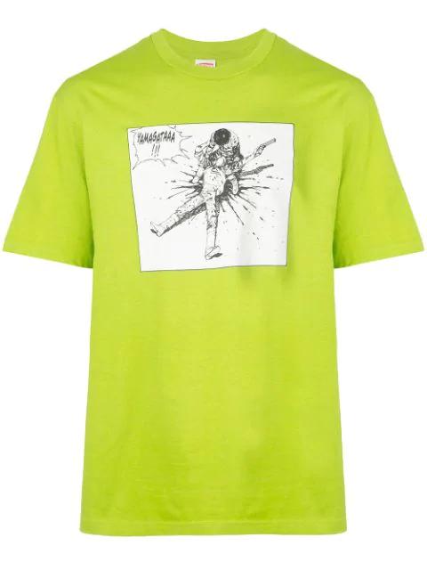 Supreme Yamagata T-shirt In Green