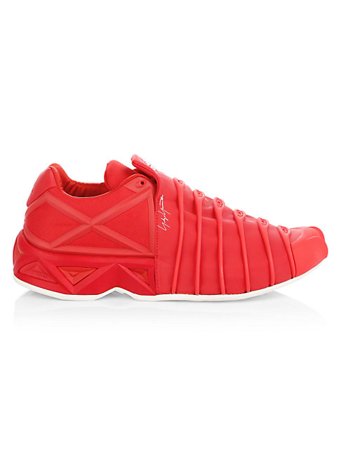 Y-3 Overkill Berlin Low Top Sneakers In Red