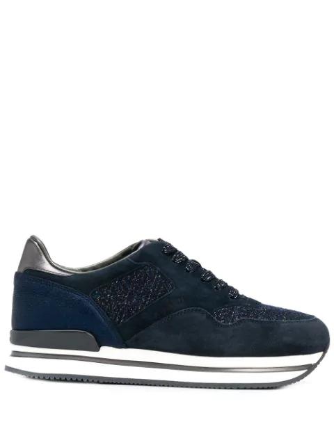 Hogan H222 Sneakers In Blue