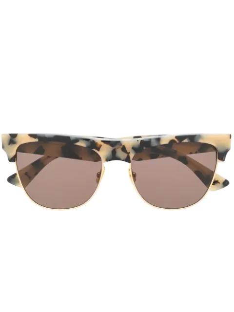 Bottega Veneta The Original 03 Sunglasses In Brown
