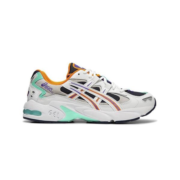 Asics White & Navy Gel-kayano 5 Og Sneakers