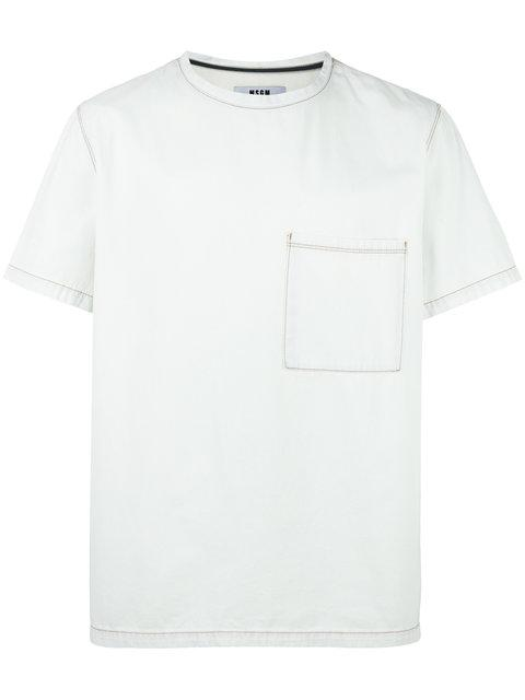 Msgm Denim T-shirt