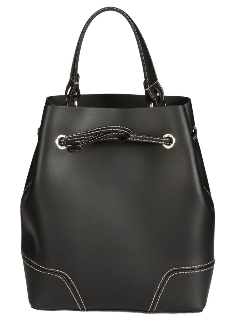 Furla Stacy Bucket Tote In Onyx