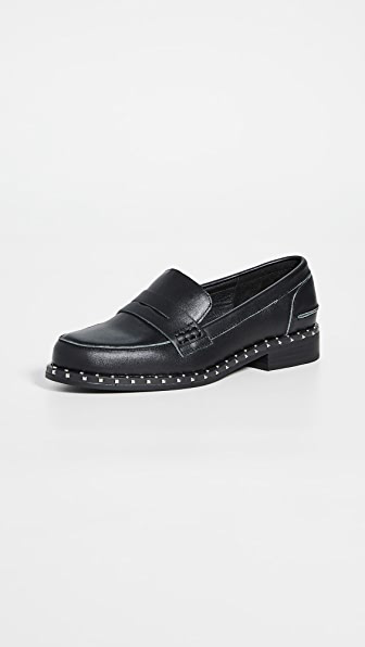 Sol Sana Lloyd Loafers In Black
