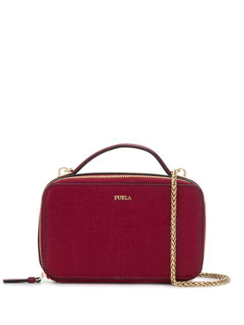 Furla Boheme Crossbody Bag In Red