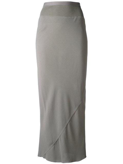 Rick Owens Coda Mxi Skirt