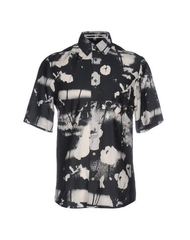 Mcq By Alexander Mcqueen Patterned Shirt In Black