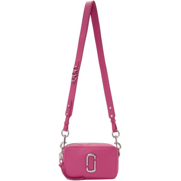 Marc Jacobs Pink 'the Softshot' 21 Bag