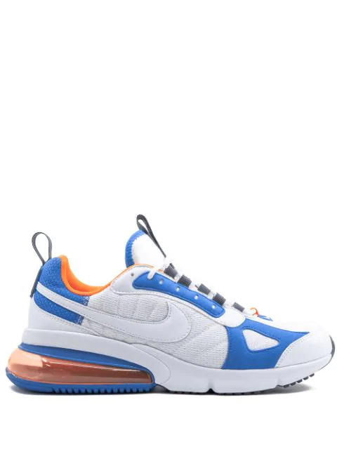 detailed look 91362 bd24a Air Max 270 Futura White Total Orange Blue Heron in White/White/Totalorange