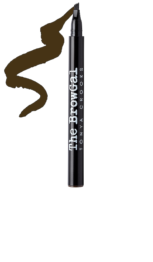 The Browgal Ink It Over Feather Brow Tattoo Pen In Dark Hair