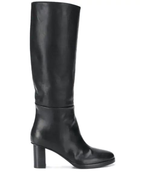 A.f.vandevorst Knee Boots In Black