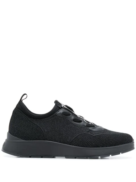 Liu •jo Slip-on Sneakers In Black