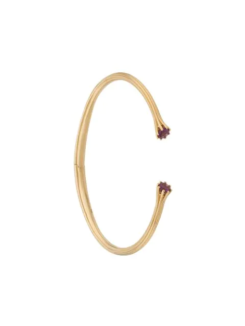 Astley Clarke Linia Open Bangle In Yellow Gold