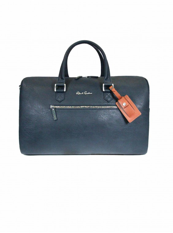 Robert Graham Men's Blanchard Duffel Bag In Navy By