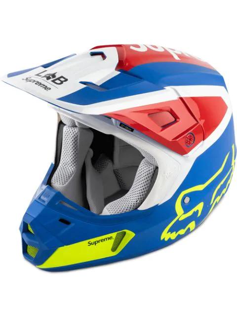 Supreme Fox Racing V2 Helmet In Blue